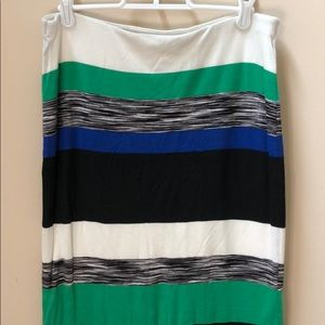 "(Anthropologie) ""Bailey44"" Striped Maxi Skirt"